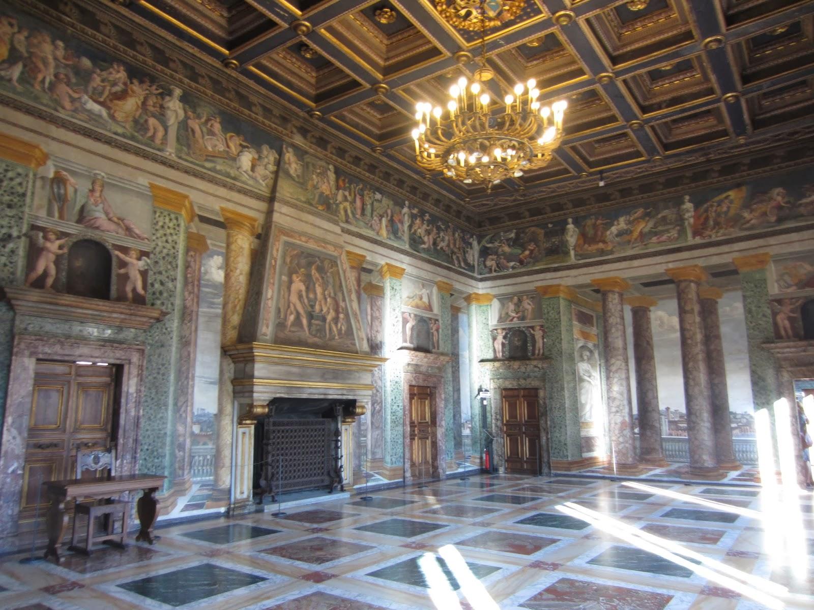 Palazzo Farnese And The Villa Farnesina