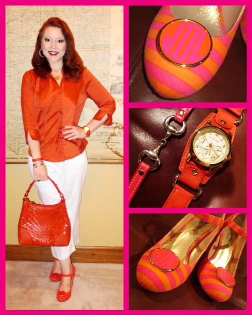 Red dress dress barn shoes