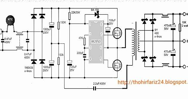 Image Result For Modifikasi Psu Komputer Untuk Amplifier