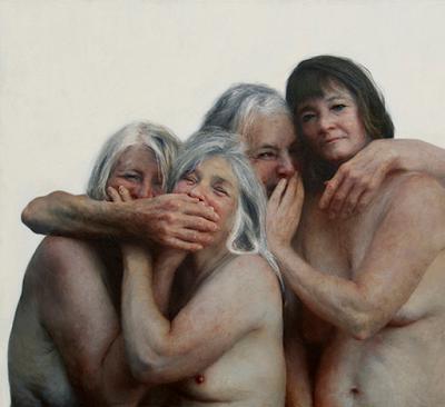 Abuelitas En El Desnudo Artístico Aleah Chapin