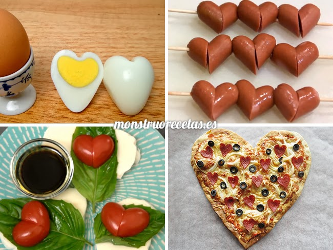 4 trucos para recetas de San Valentín
