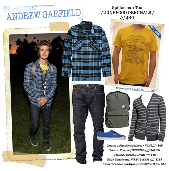 Andrew Garfield Peter Parker Outfit