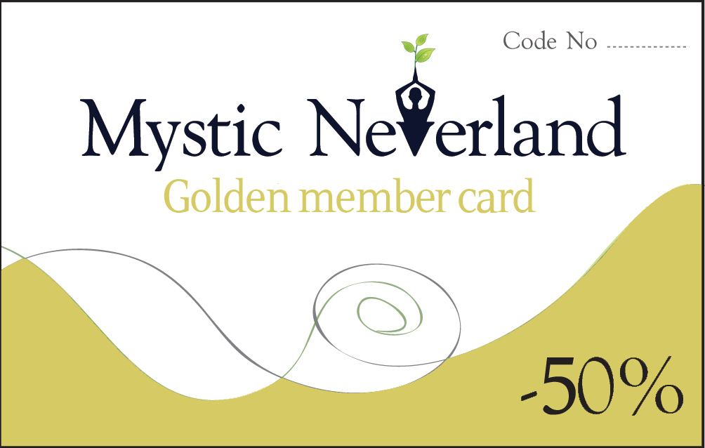 Mystic Neverland Golden Member Card