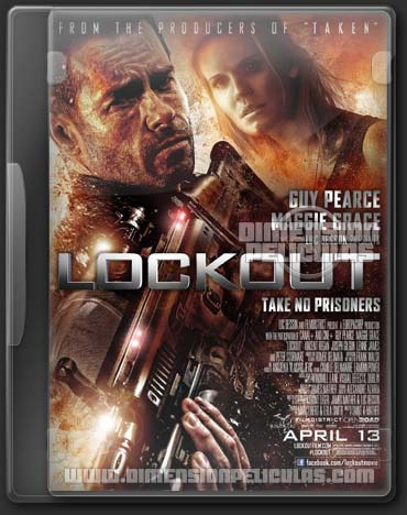Lockout (BRRip Español Latino) (2012)