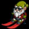 Farmville Ski Patrol Gnome