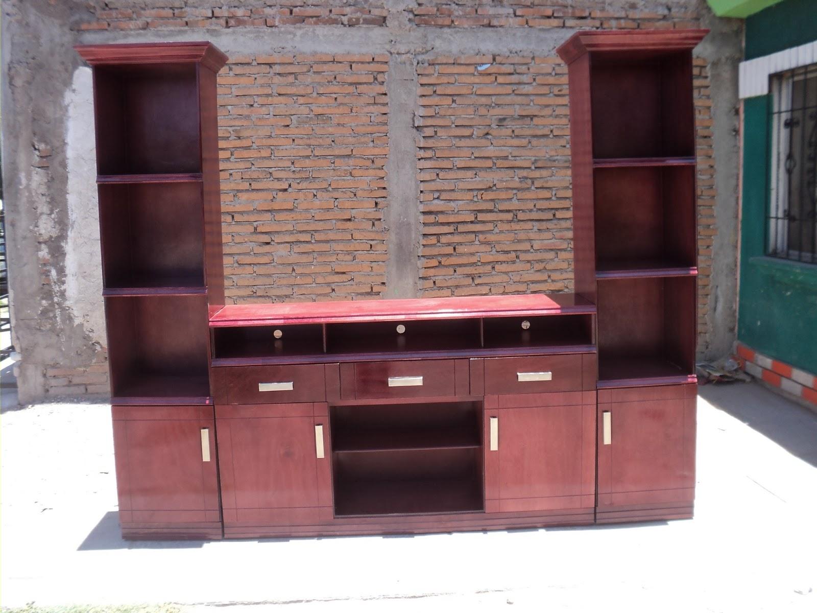 Carpinteria y muebles diaz centro de entretenimiento for Muebles diaz
