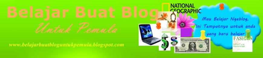 Belajar Buat Blog Untuk Pemula