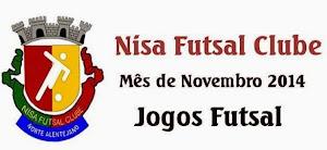 NISA FUTSAL CLUBE: CALENDÁRIO DE JOGOS - NOVEMBRO