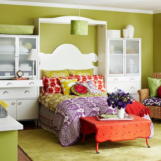 Modern furniture 2014 smart storage solutions for small for Small space solutions bedroom