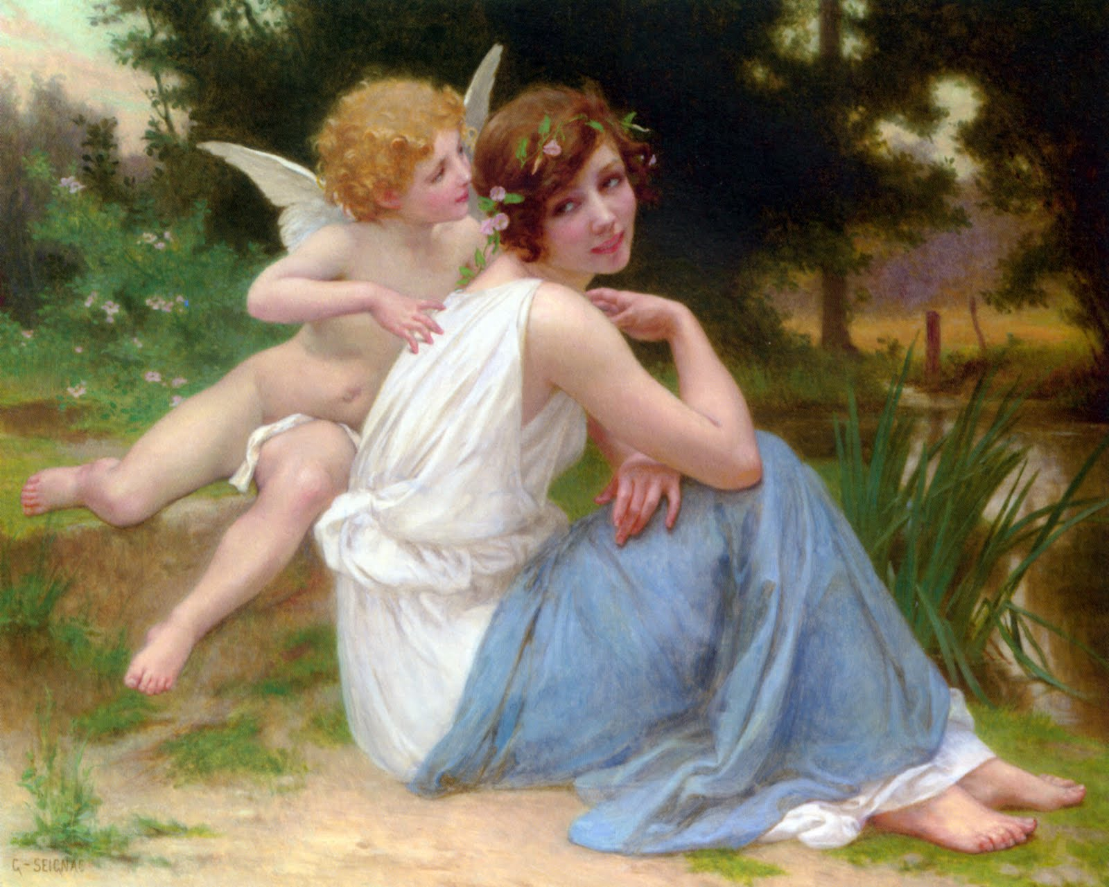 guillaume seignac cupid psyche