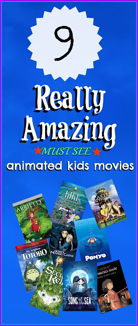 9 really amazing MUST SEE kids movies