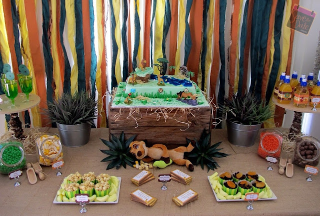 Little Big Company The Blog The Lion King Themed Party