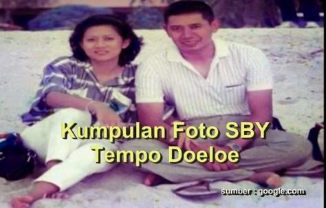 Foto Beye Berdua Bersama Istri Ibu Ani Yudhoyono di Pinggir Pantai
