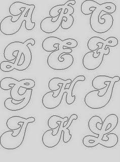 Molde de Letras - Alfabeto para Mural