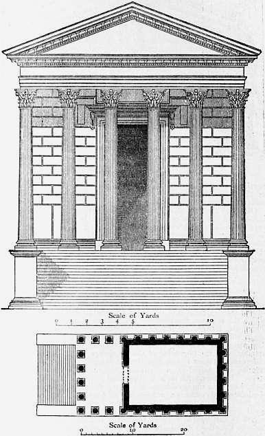 Elegant La Maison Carree Was Lucky To Survive The Fall Of The Empire. This Is  Mostly Due To The Fact That The Building Became A Church In The Fourth  Century, ...