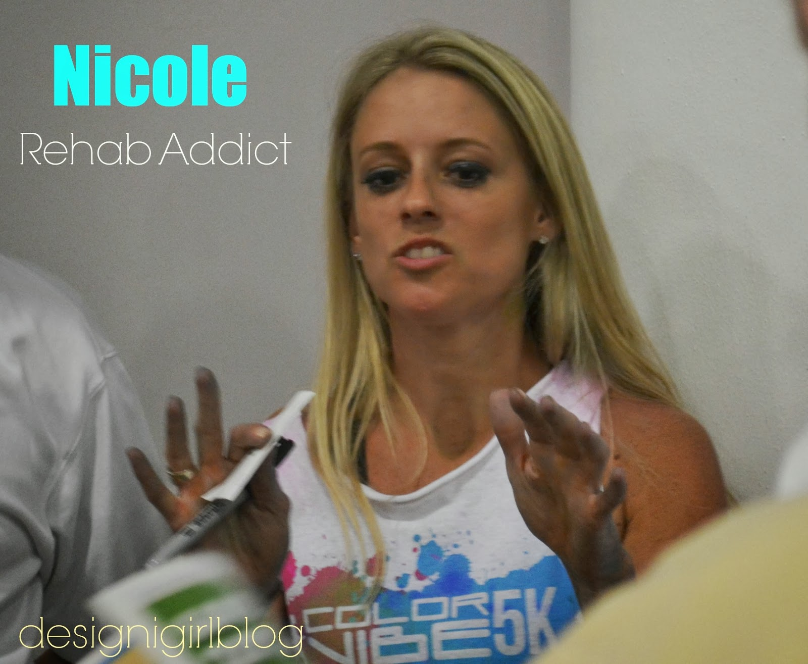 What did nicole curtis of rehab addict get arrested for