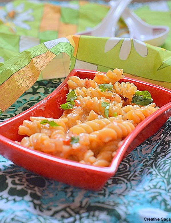 Easy and quick mac and cheese