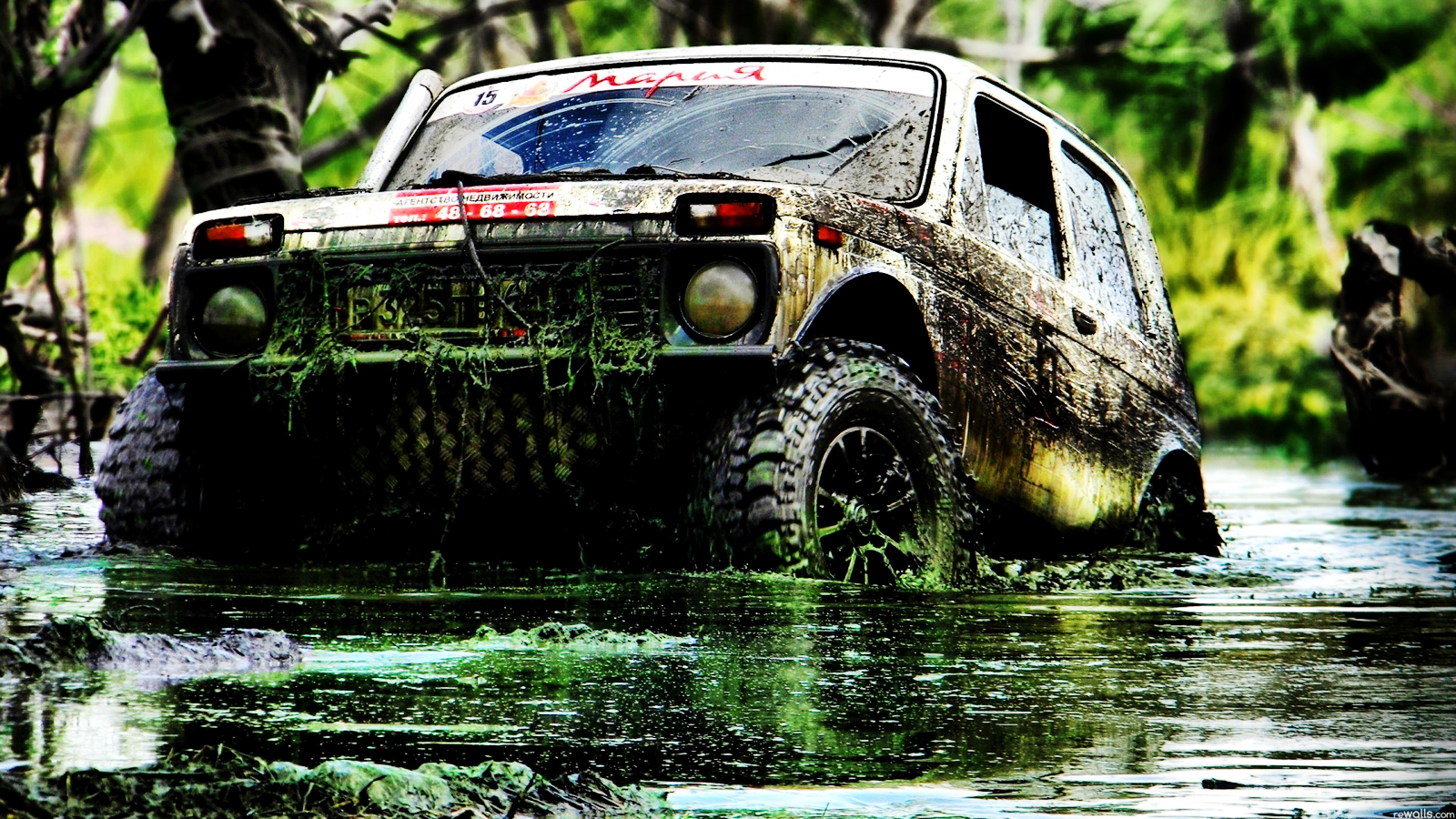mud truck wallpapers for desktop - photo #36