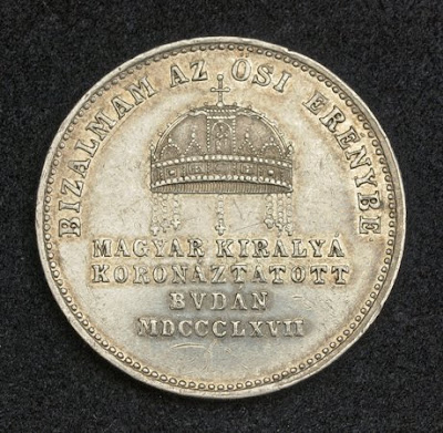buy sell Silver Coronation coin 2 Ducats