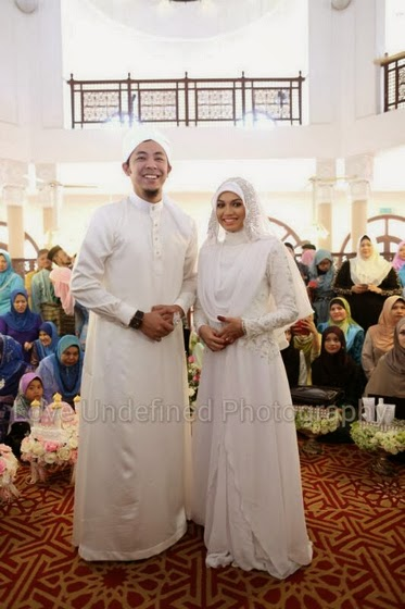 Pernikahan Syamsul Yusof dan Puteri Sarah Liyana. Mabruk!!