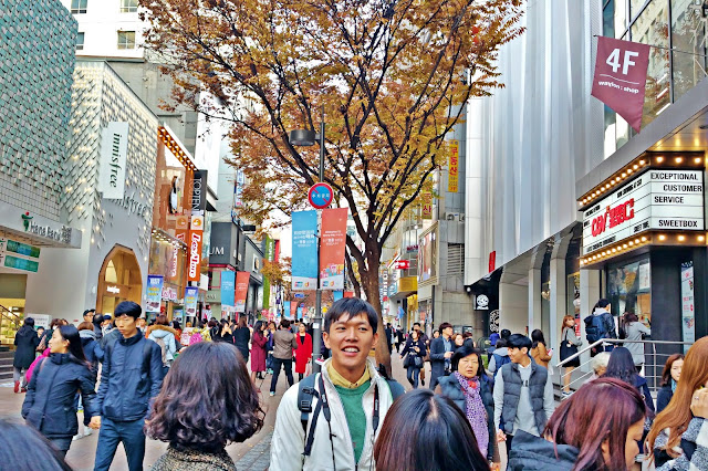 Myeongdong Noon Square Shopping Mall | www.meheartseoul.blogspot.com