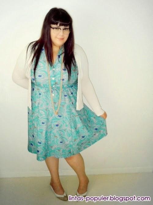 model baju wanita gemuk terkini