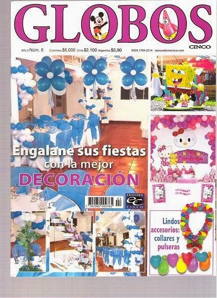 Decoraci n de globos para cualquier fiesta revistas de for Revistas de decoracion gratis