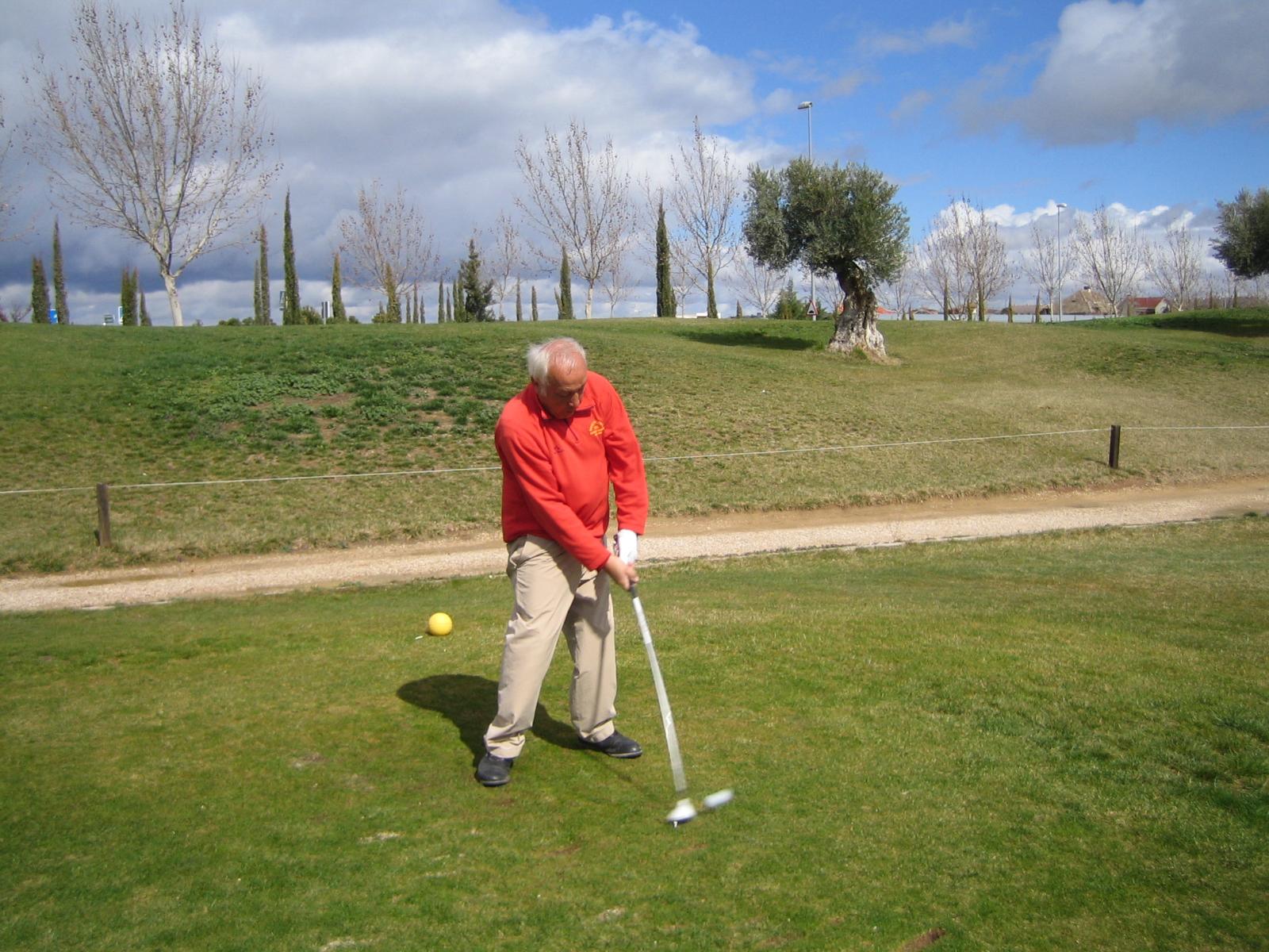 El putt de golpe y medio 4 prueba de golf adaptado for Golf jardin de aranjuez