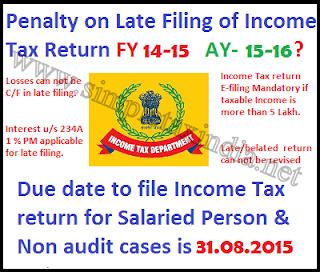 Tax return due date 2015