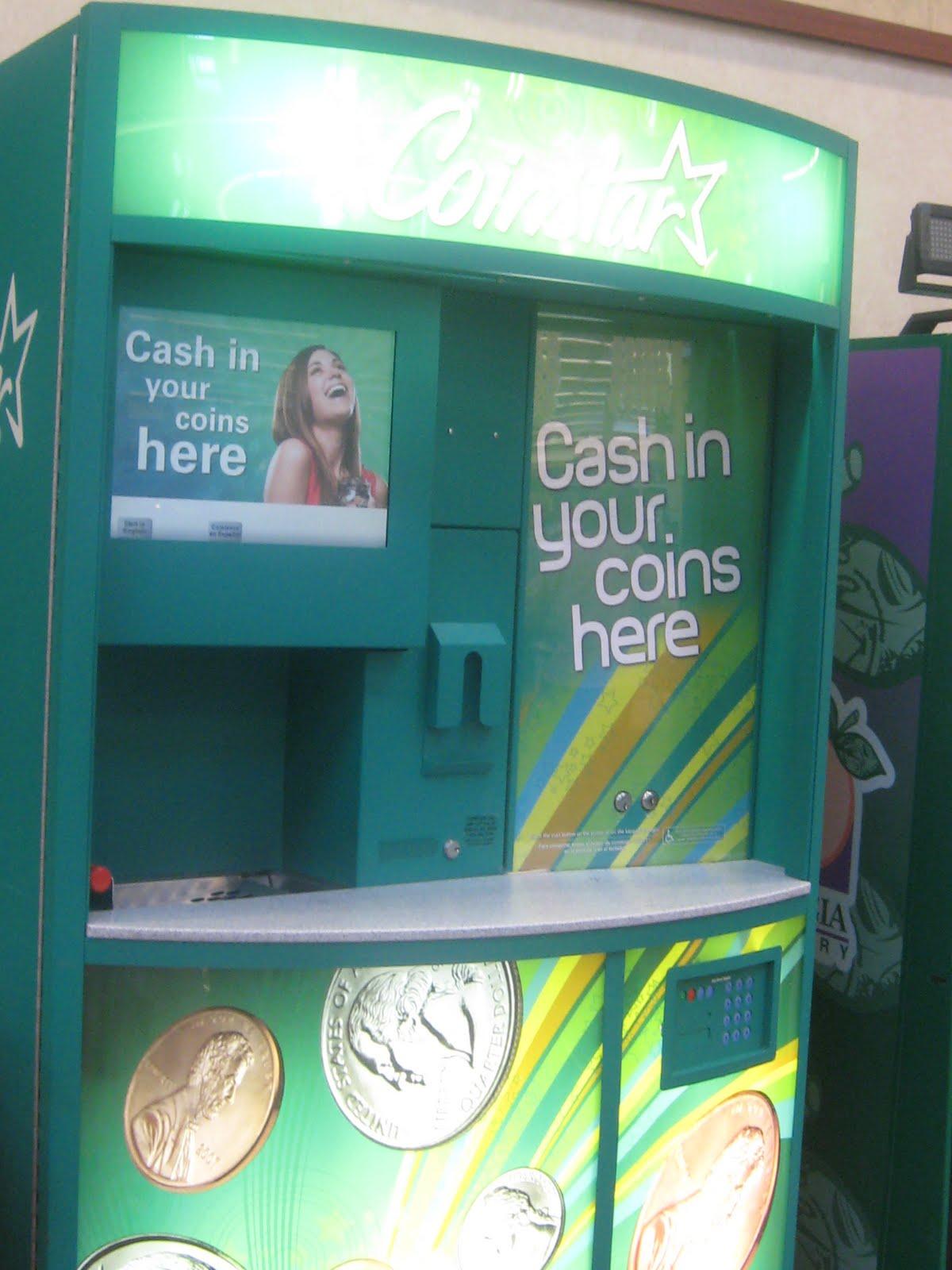 kroger coin machine