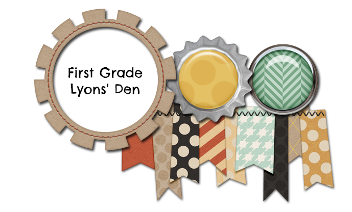 First Grade Lyons' Den