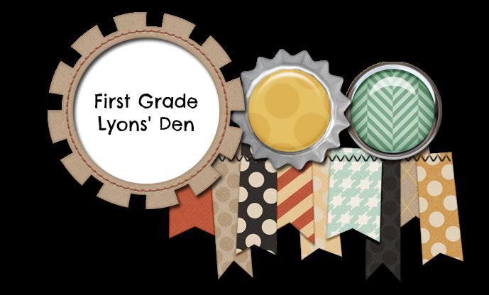 First Grade Lyons' Den