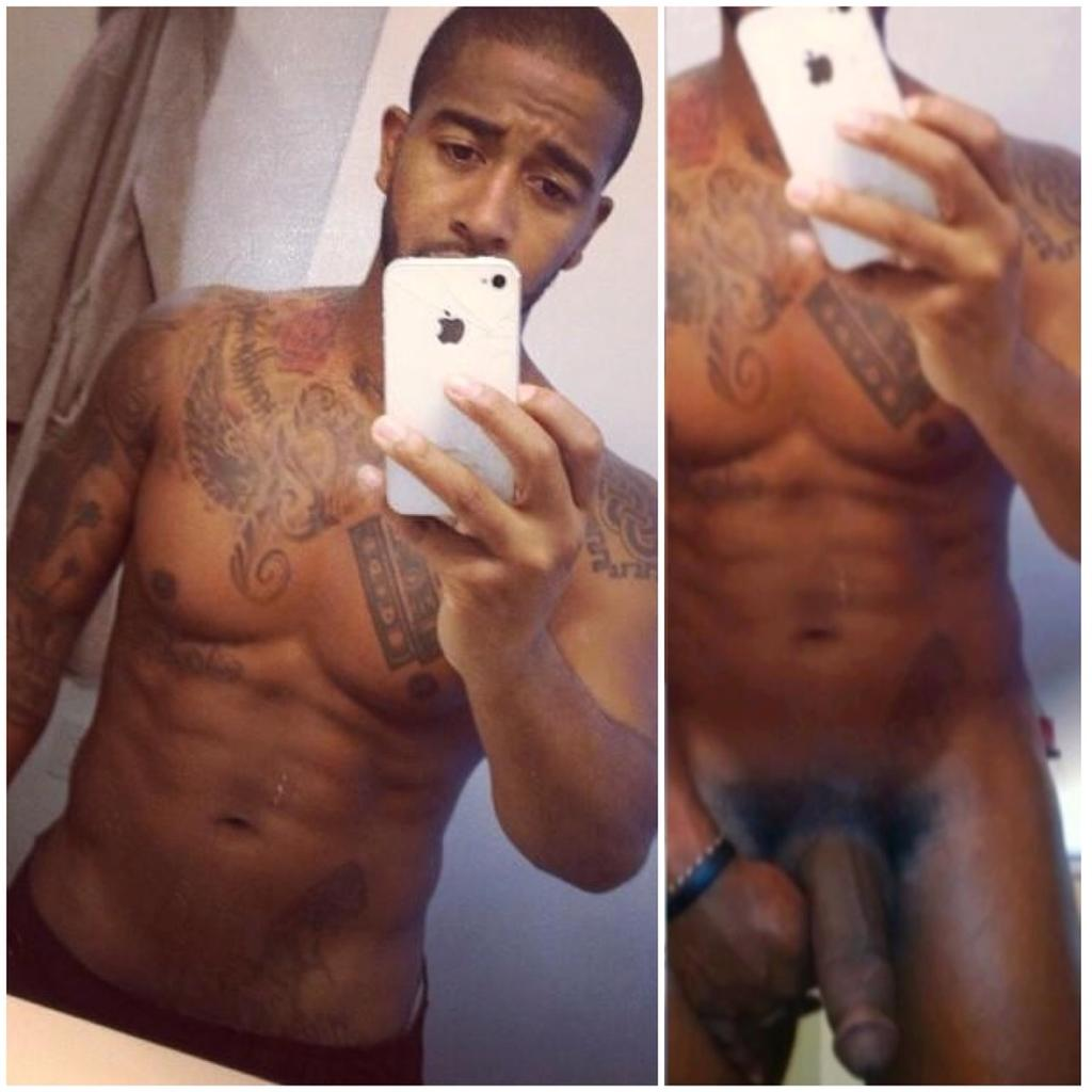 sexy nude pictures of black athletic men