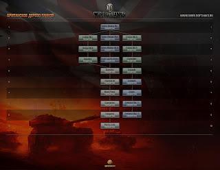World of Tanks английское древо танков