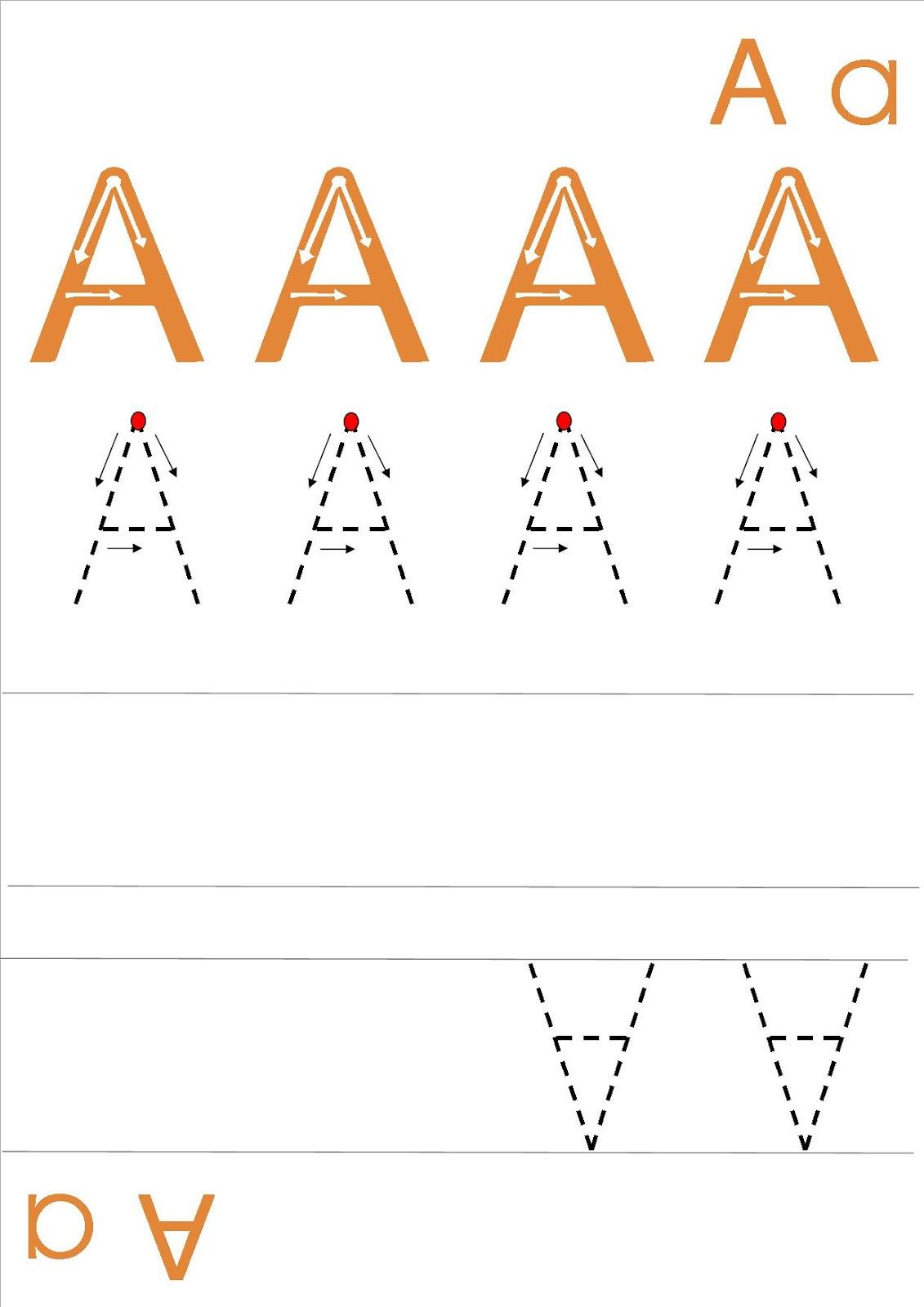 Ecriture majuscule - Lettre alphabet majuscule ...