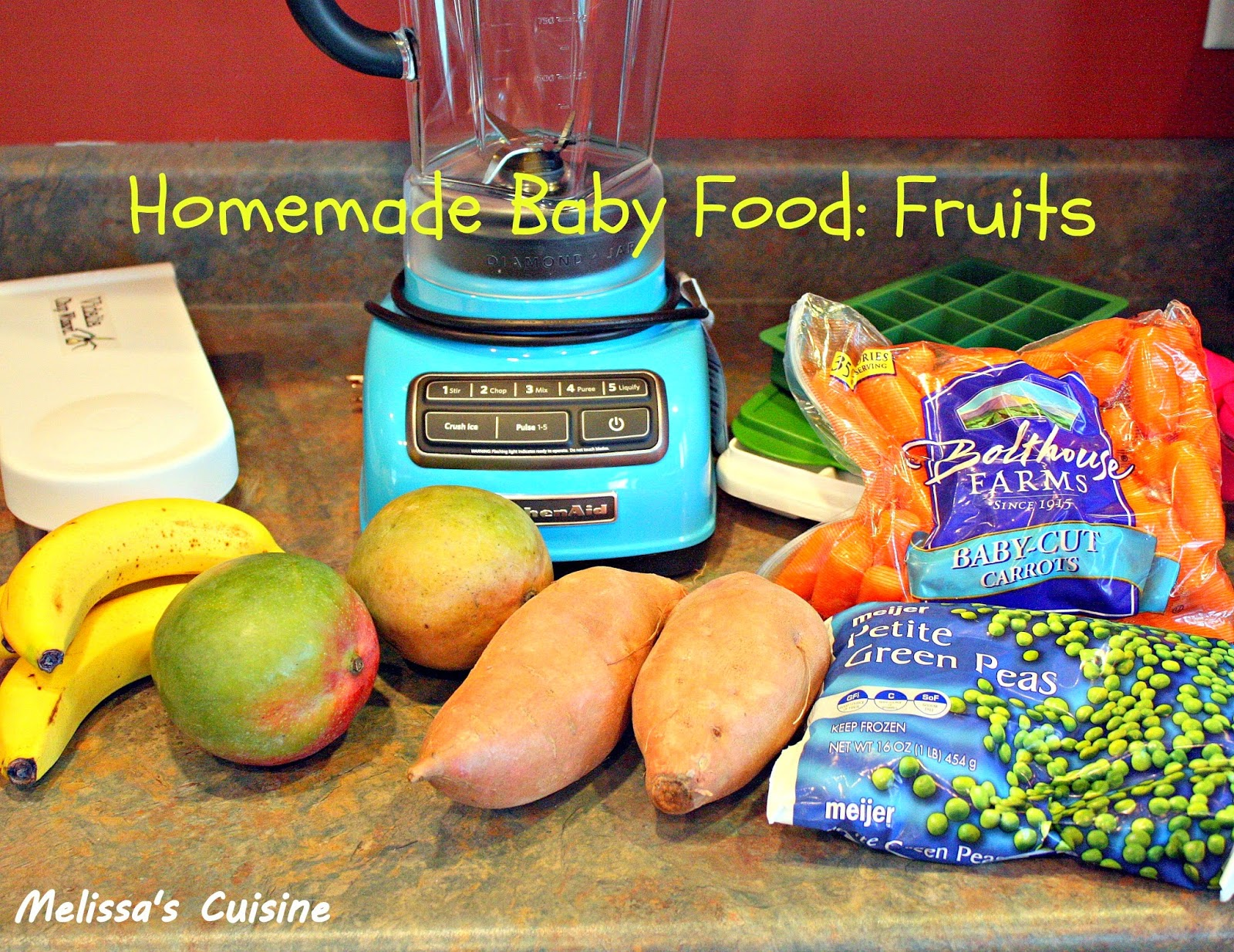 Melissa's Cuisine:  Homemade Baby Food: Fruits