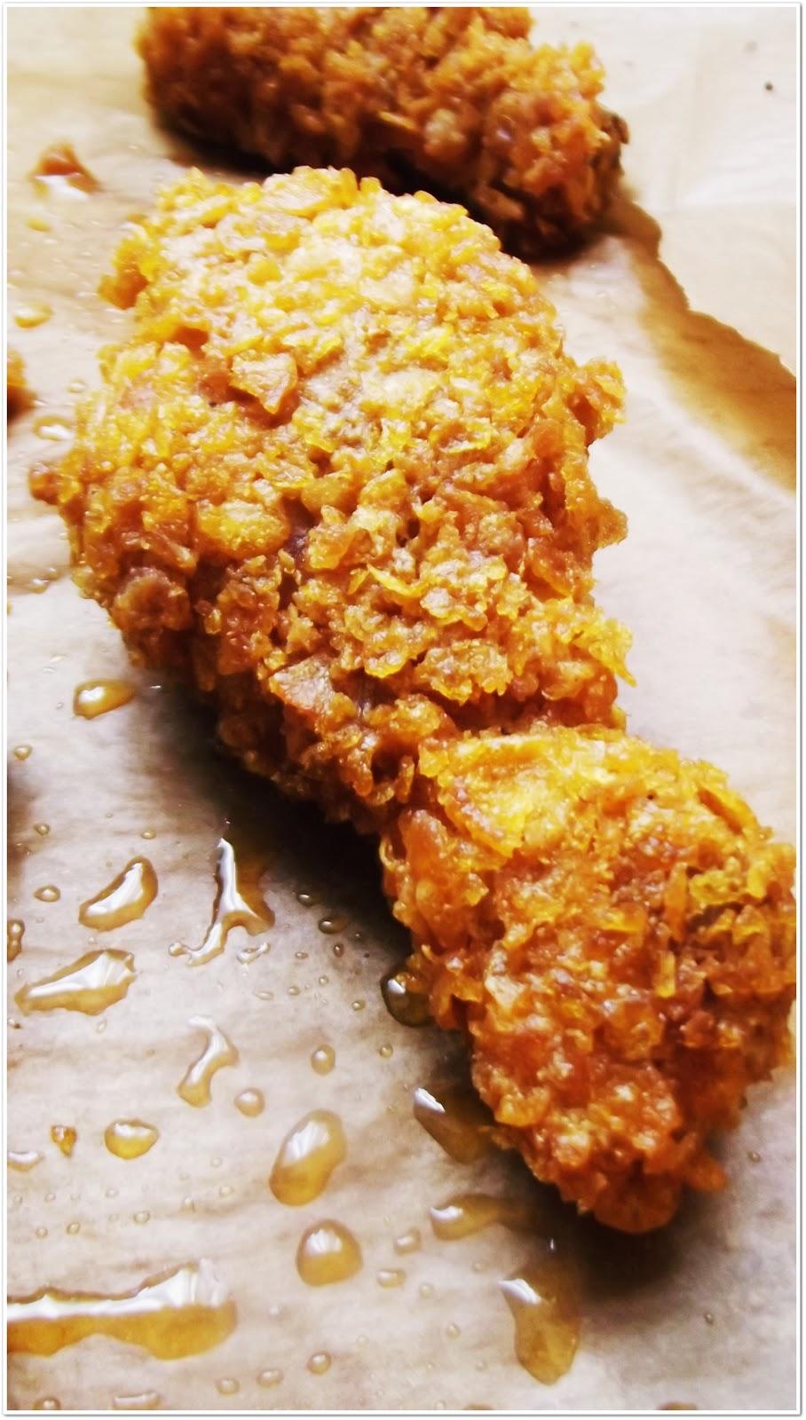 Kurczak W Platkach Kukurydzianych Kuchnia W Zieleni