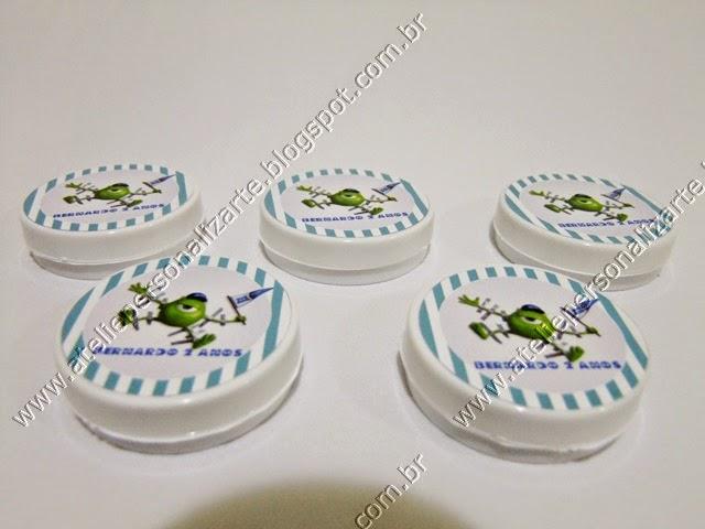 potinhos latinhas personalizados - lembrancinhas porto alegre