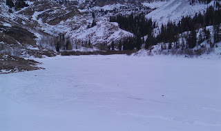 Frozen Lake Blanche