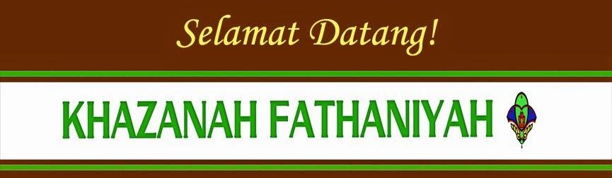 Katalog KHAZANAH FATHANIYAH 2015