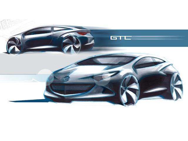 Astra'nın yeni model güncellemesine ait çizim çalışması