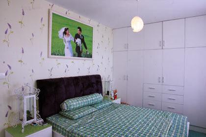 Không gian đẹp nhờ giấy dán tường 8
