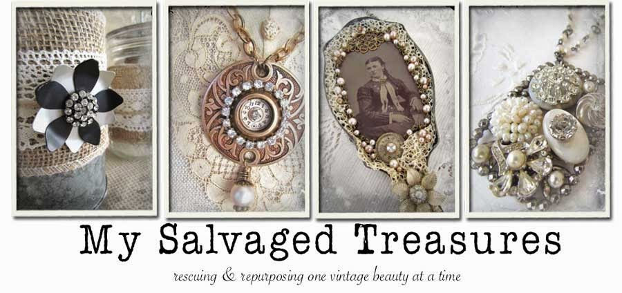 Chipping with Charm: Blog Tour, My Salvaged Treasures...http://www.chippingwithcharm.blogspot.com/