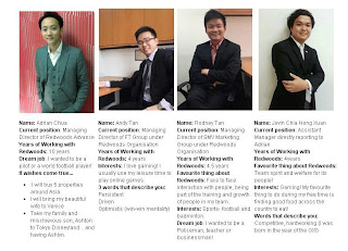The Key Players at Redwoods Advance Pte Ltd Singapore