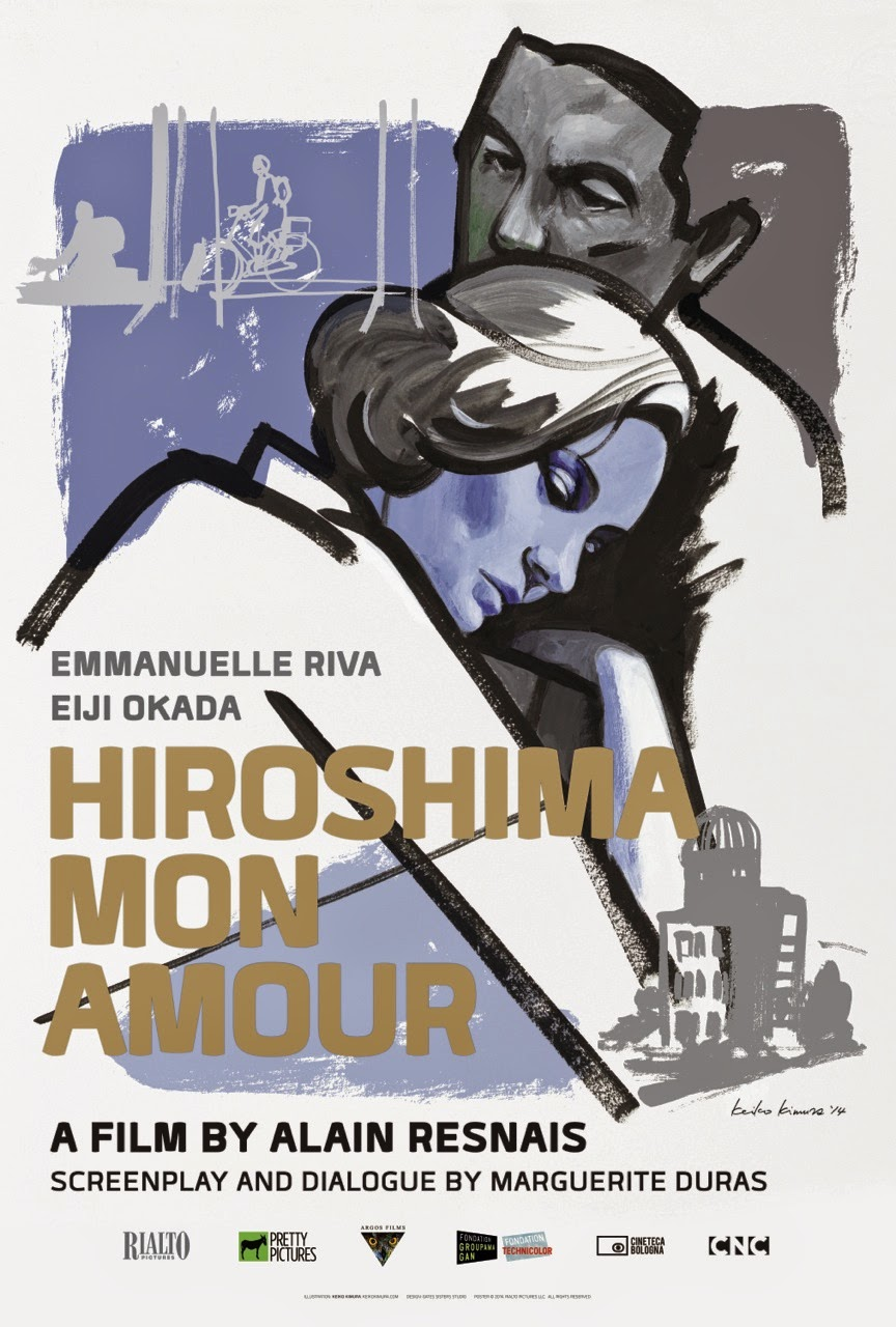 an analyisis of war in hiroshima mon amour a drama film directed by alain resnais Hiroshima, mon amour is the screenplay for the classic french film directed by alain resnais this is one of the few screenplays i truly enjoy, as hiroshima is a wonderful story about remembering and forgetting set in the context of post-nuclear war and love.