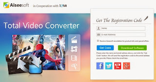 Aiseesoft Total Video Converter License Key