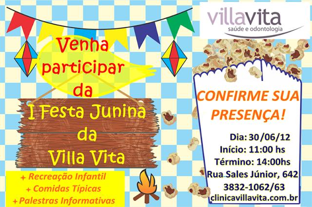 festa+junina+2012 - Venha Participar da Festa Junina da Villa Vita - 30/06/12 - Confirme sua Presença!