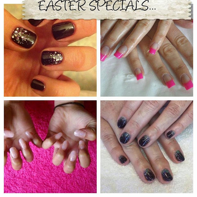 Easter Special tips french acrylic tips clear coat shellac