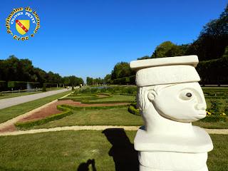 Luneville (54) - Jardins du château - Sculptures symposium 2012