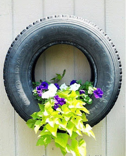 Wonderful Unique Ways to Repurpose Old Tires